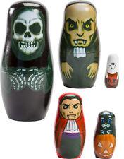 Halloween Nesting Matryoshka Babushka Russian Dolls Decoration