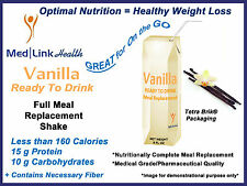VANILLA READY-TO-DRINK SHAKE Weight Loss | 1 Case | SIMILAR TO Optifast® 800
