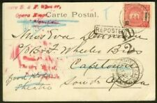 Funchal-Cape of Good Hope 1904 view card/Reposted