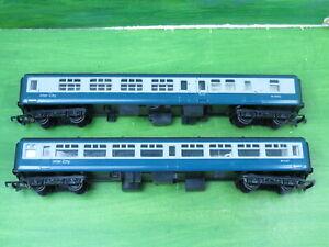 2 x Hornby inter city coaches M5120 & M14052 brake - oo gauge