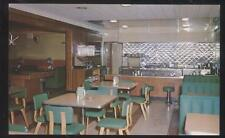 Postcard WAUSAU Wisconsin/WI  Bill's Food & Bar Restaurant Interior view 1950's