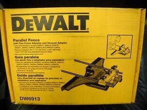 DeWALT DW6913 Universal Edge Guide w/ Dust Collection NEW