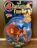 Human Torch Johnny Storm Vintage Fantastic 4 Four Action Figure New 1994 Toybiz