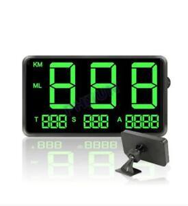 Car Digital GPS Speedometer Speed Display KM/H MPH For Bike Motorcycle Scooter