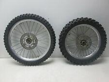 Radsatz Vorderrad Hinterrad 19 / 16 Räder FRONT REAR WHEEL Suzuki RM 80 RC12A 93