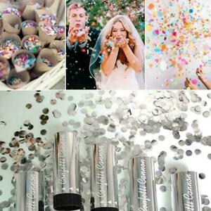 Compressed Air Confetti Cannon Wedding Birthday Baby Party Hen Shower V4O7