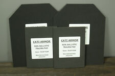 CATI Armor 10mm Trauma Pads Backers Pair 10x12 and 6x8 Pads For AR500 Plates