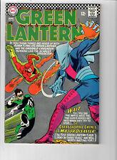 GREEN LANTERN #43 (Vol. 1) - Grade 8.0 - Flash! Gil Kane cover!