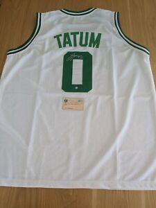 JASON TATUM - Boston Celtic Signed Jersey with COA