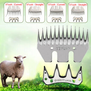 13T Strength Straight Tooth Blade Stainless Steel Goat Shearing Sheep Clippers