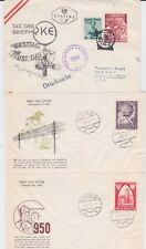 AUSTRIA OLD FDC COVER COLLECTION 1946-1950