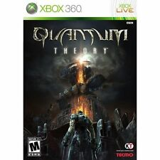 Quantum Theory  (Xbox 360, 2010) BRAND NEW FACTORY SEALED