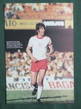 KAZIMIERZ DEYNA  FOOTBALL PLAYER -1 PAGE PICTURE - CLIPPING