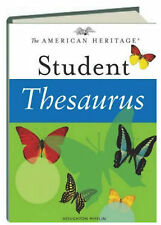The American Heritage Student Thesaurus (2003, Hardcover)