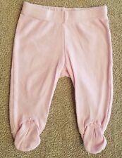 CARTER'S NEWBORN LIGHT PINK FOOTED LEGGINGS/PANTS ADORABLE REBORN