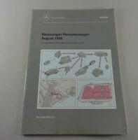 Werkstatthandbuch Neuerungen Änderungen Mercedes Benz W202 C-Klasse Aug. 1996
