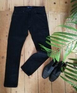 €240 Levi's Made & Crafted STUDIO TAPER Jeans black W32 L32