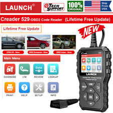 LAUNCH Creader CR529 OBD2 Car Code Reader Diagnostic Scanner Tool Turn Off MIL