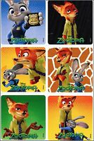 Zootopia Stickers x 6  - Birthday Party Loot - Disney Zootopia Birthday Lolly
