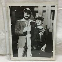 Vintage NBC Press Photo Glen Campbell Music Show Sheena Easton