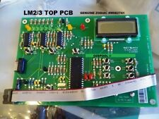 LM2 and 3 ZODIAC PCB TOP DISPLAY WITH LATEST CLOCK and new larger battery ,100%