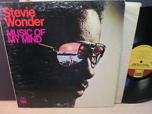 Stevie Wonder: Music of My Mind (VG+ 1972 Tamla, US LP) Gatefold