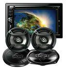 Gravity VGR-D900BT 2-DIN DVD Car Receiver + 4x Pioneer 6.5
