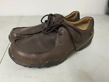 CLARKS FLEXLIGHT MENS BROWN LEATHER LACE UP SHOES UK SIZE 8