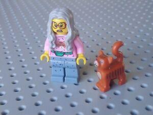 Lego Minifigure The LEGO Movie: Mrs. Scratchen-Post [TLM006 / COLTLM-6] x1