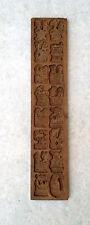 Altes Spekulatius-Brett Holz Model Springerle 16 Motive Backform Bäcker