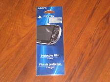NEW! Official PS VITA Protective Film Screen Protector 2 Pack (PlayStation Vita)