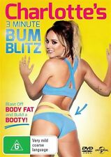 Charlotte Crosby's 3 Minute Bum Blitz DVD R4 Fitness New Geordie Shore Star
