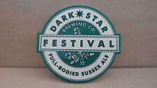 Dark Star Festival Ale Beer Pump Clip Pub Bar Collectible 25