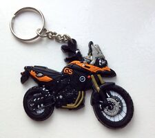 BMW F800GS F800 GS F 800 Funduro AntiScratch Tank Friendly Soft Rubber Keyring R