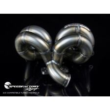 SpeedFactory Stainless Turbo Manifold Ramhorn B18 B16 Honda Civic Integra W AC