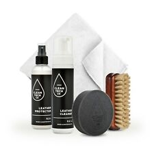 Lederpflegeset Leather Care Kit 200ml + 200ml Lederschutz Autoleder UV-Schutz