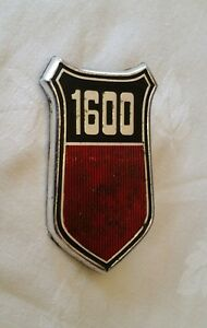 FORD 1600 GT VINTAGE CLASSIC WING BADGE ORIGINAL