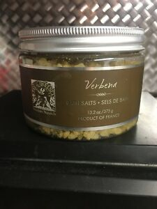 Pre De Provence Verbena Bath Salts 375gg 13.2 Oz Mediterranean Sea Salts