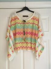 Ladies Poncho Top - Size S/M - 10 12 14 - QED London (3)