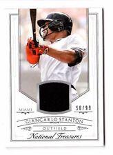 GIANCARLO STANTON MLB 2015 PANINI NATIONAL TREASURES MATER(FLORIDA/MIAMI MARLINS