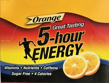 5 Hour Energy Orange 12 Count Box 1.93 Oz Shots