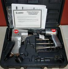 CAMPBELL HAUSFELD IMPACT WRENCH AND SHORT BARREL AIR HAMMER SET + ATTACHMENT SS2