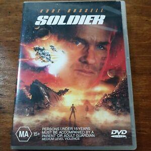 Soldier Kurt Russel DVD R4 VERY GOOD - FREE POST