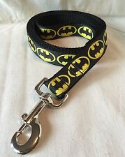 Batman Inspired Ribbon 6' Leash Dog