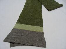 AEROPUERTO - Verde/gris - con Peluche Acrílico Mezcla - Pequeño Talla - Bufanda