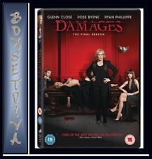DAMAGES - COMPLETE SEASON  5 - THE FINAL SEASON  *BRAND NEW DVD*