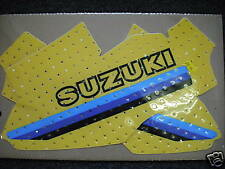 Suzuki RM125 RM 125 1981 Tank Decals Graphics Stickers