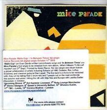 (BR993) Mice Parade, Mallo Cup - DJ CD