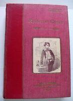 1930 DE FOE ROBINSON CRUSOE AVENTURES ILE SAUVAGE CARTONNAGE BOOK LIVRE ILLUSTRE