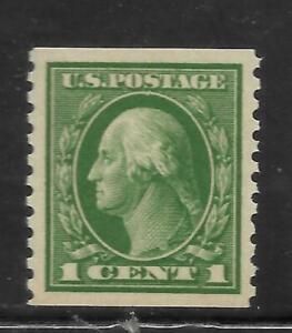 #V - U.S.- 1c  Washington - Coil - Mint MNH-  Scott#  443